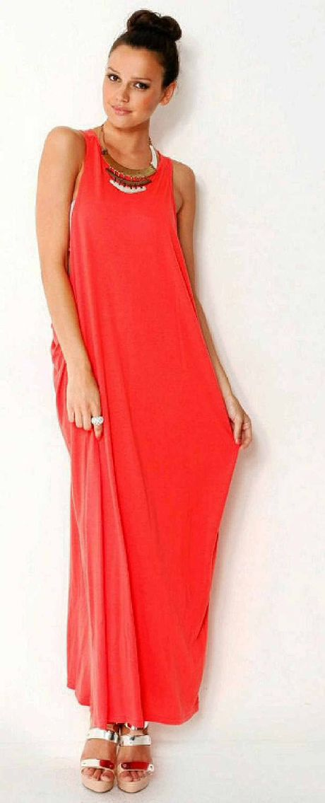 Racer back maxi dress, $25, Supre, available at supre.com.au.