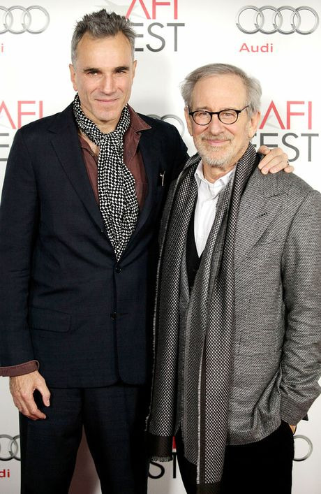 Daniel Day-Lewis and Steven Spielberg, the main actor and director of Lincoln, respectively.