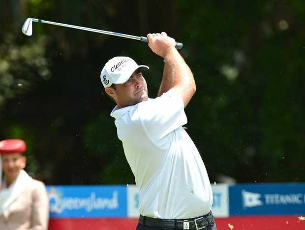 Day 2, 2012 Australian PGA Championship at Palmer Resort Steven Bowditch is back in form. Photo:Warren Lynam / Sunshine Coast Daily