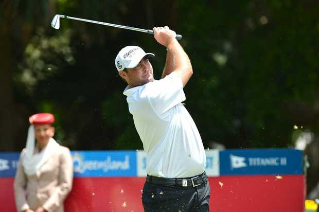 Day 2, 2012 Australian PGA Championship at Palmer Resort Steven Bowditch is back in form. Photo:Warren Lynam / Sunshine Coast Daily