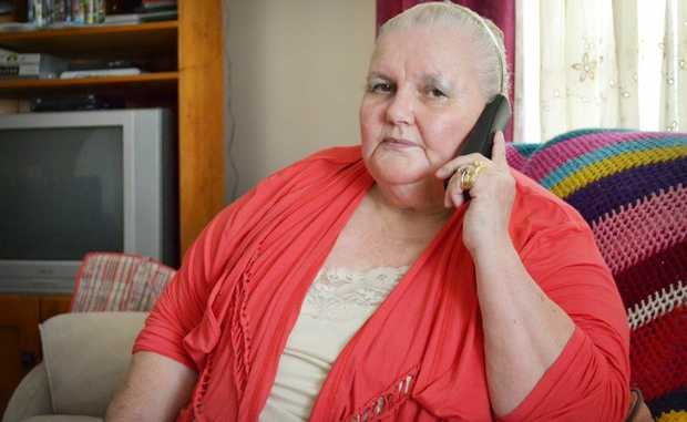 ON ALERT: Nannette Sully is warning Logan residents of a potential phone scam that she was recently targeted by. Photo: Chris Owen / The Reporter