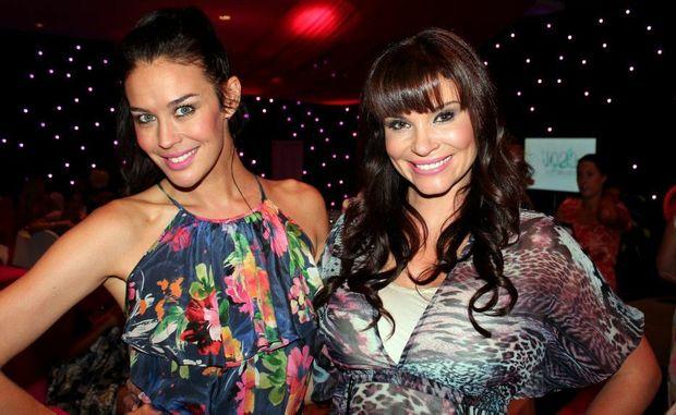 Megan Gale and Chloe Maxwell loved the ladies brunch at Salt on Saturday.