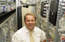 Range Pharmacy owner David Heiner has purchased a new robotic inventory management system for his business.
