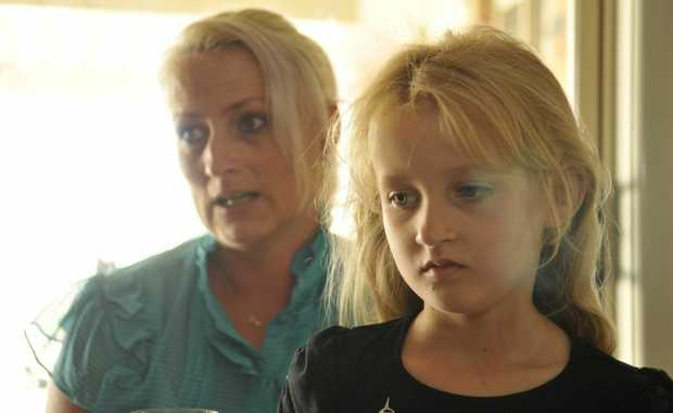 Carmen Shipp hopes something can be done to decrease the tonsil surgery waiting list her daughter Haylee is on.