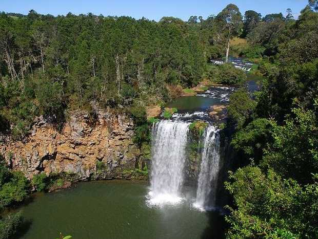 Police divers recovered the body of a German tourist below Dangar Falls today.
