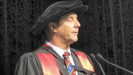 HIGH HONOUR: Dr Gavin Porter was awarded