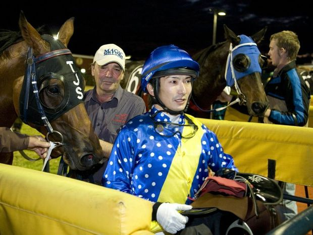 Jockey Nozi Tomizawa will partner Typhoon Red at Clifford Park on Saturday.