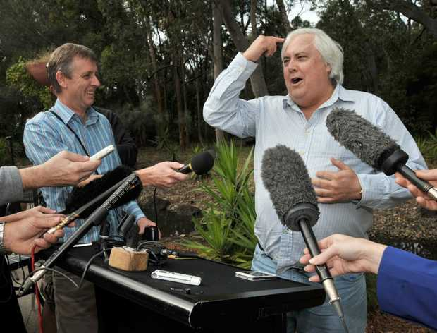 CLIVE Palmer agrees with Malcolm Turnbull's call for more honesty and less spin from politicians.