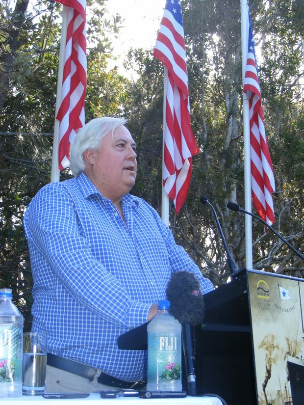 Billionaire miner Clive Palmer donated more than $204,000 to the Coalition in the 2011/12 financial year.