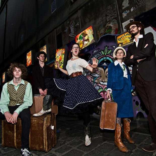 The Perch Creek Family Jugband will perform in Uki on Sunday. Photo: Contributed