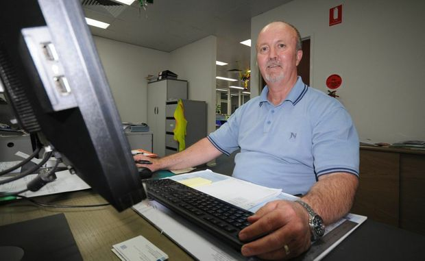 John Murdoch is looking forward to kicking back when he retires after 46 years today.