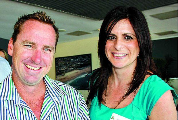 Damien Drew and Megan Schwarz of Pantha Homes.