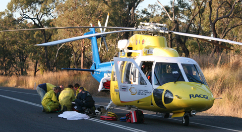 CONCERNED: The closure of Moura Hospital could effect other services like the rescue helicopter service.
