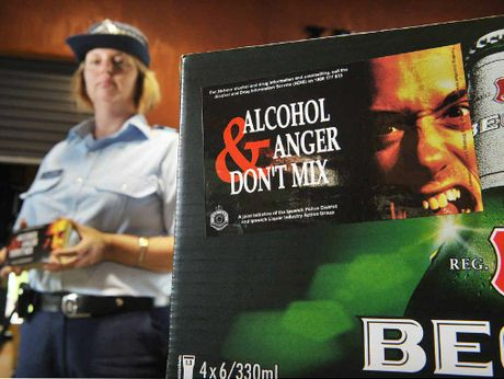 Nadine Webster launches an alcohol safety sticker campaign, urging people not to get angry when they are drinking.