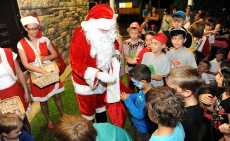 FULL SCHEDULE: Santa keeps himself occupied training his reindeer, overseeing his elves' toy making and appearing at festive functions and