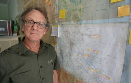 Capricorn Conservation Council Co-ordinator Michael McCabe opposes the development of eco tourism resorts in National Parks.