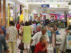 The last-minute Christmas shopping rush at Tweed City. Photo Blainey Woodham / Daily News