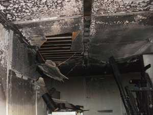 It took two hours for firefighters to extinguish the blaze in Howard.