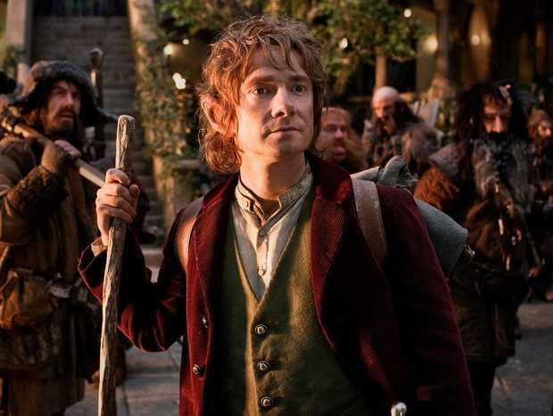 Martin Freeman stars as Bilbo Baggins.