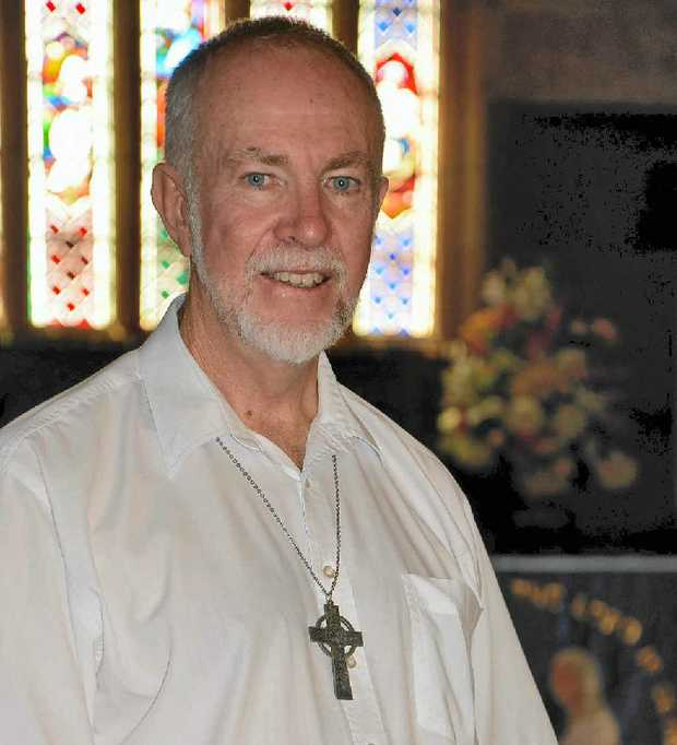 BUSY TIME: Fr Rod Winterton at St Mark's.