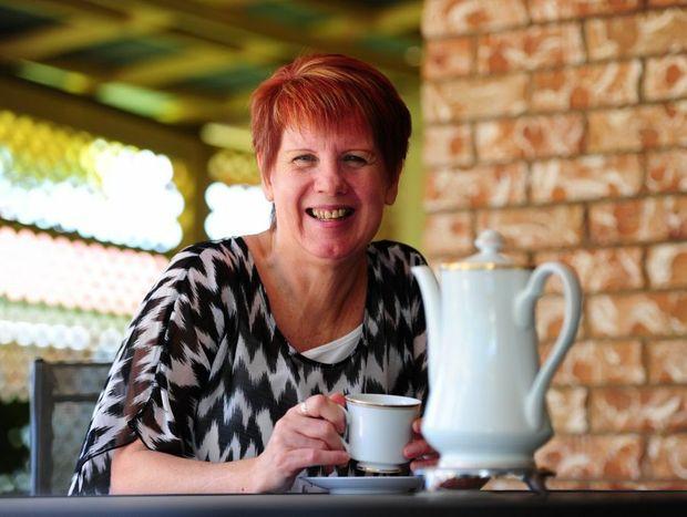 Kerry McDougall Perrie is a huge fan of green tea.