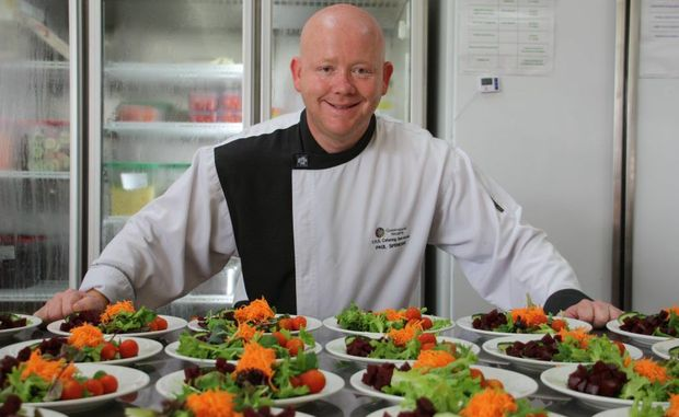 Toowoomba Hospital chef Paul Spencer can't wait for a kitchen refurbishment.
