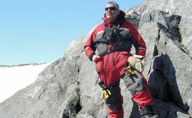 Allan Cooney of Toowoomba spent Christmas day in Antarctica.