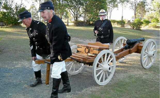 Her Majesty's constabulary move in reinforcements in preparation for inbound bushrangers.