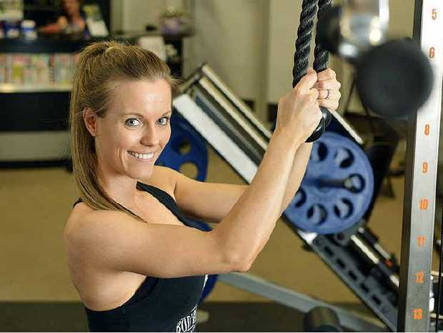 FIT FOR SUCCESS: November sportstar Jade McKee enjoys showing the benefits of hard work in major competitions.