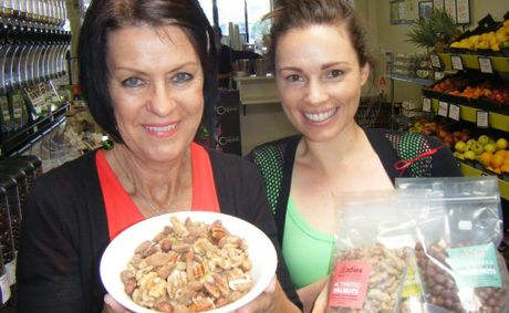 Judy Brooker (left) and Liz Kent of Wray Organics said more customers are seeking out the new health food.