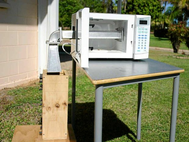The microwave weed elimination technology generated a high level of interest within the Australian vegetable-growing community.