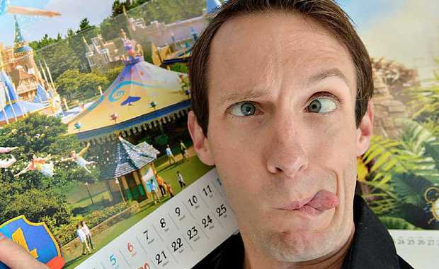 STEVEN Smith works at Disneyland in the US, ensuring children's dreams come true.