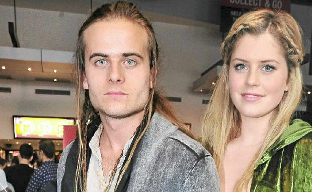 Brother and sister, Peter and Amy Siggs, who watched The Hobbit at Birch, Carroll & Coyle Cinema at the Sunshine Plaza.