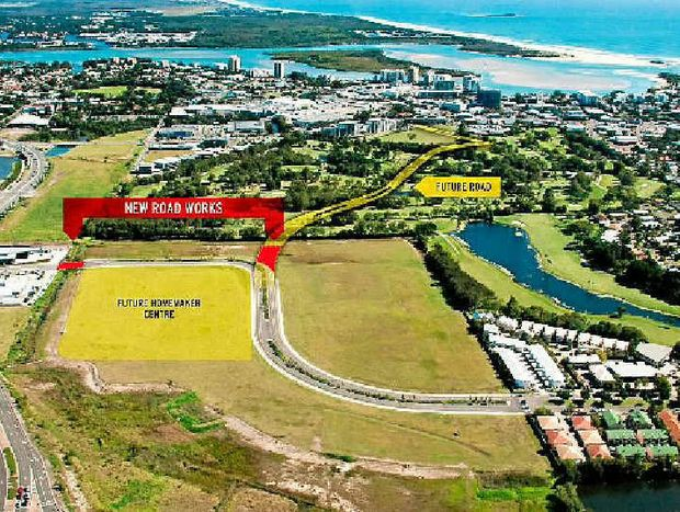 PLANNING AHEAD: Council will take control of the Maroochydore CBD site in 2014.