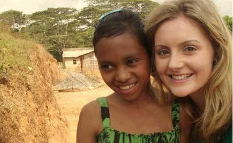 Lauren Bourke loved the time she spent teaching children in East Timor.