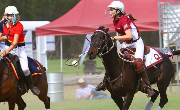 Dalby State High School student Rachel Doyle was named for Queensland Polocrosse team.