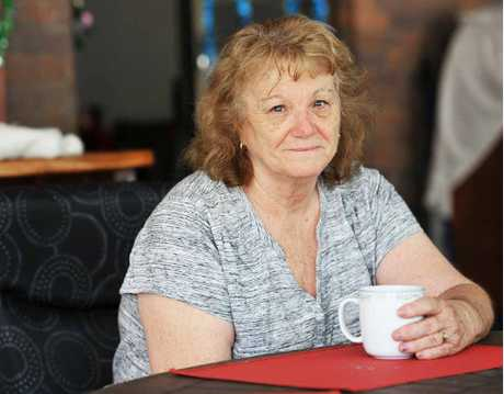 CHRISTMAS SHATTERED: Carol Baker's home was broken into on Christmas Day and thieves took a safe that contained sentimental items given to her by her late husband Graham.