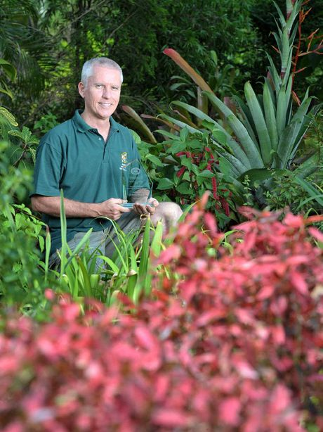 WINNER: Editor of subTropical Gardening, Paul Plant, shows off his award for Most Popular Gardening Publication handed out by the Queensland Council of Garden Clubs.