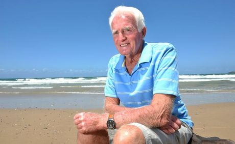 Brian Titter was saved from drowning by a unknown Samaritan and wants to find the person to thank him.
