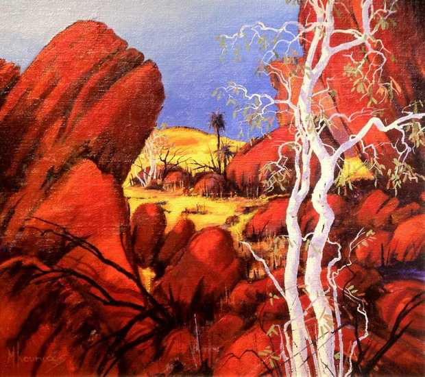 The John Villiers Waltzing Matilda Outback Art Show is on again in 2013.