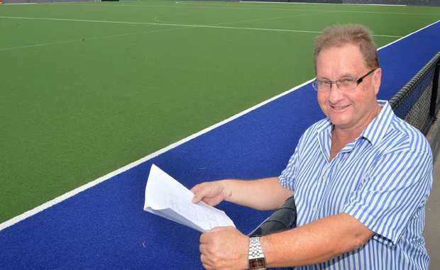 Gympie Hockey president Ian Wenzel is intent on building the club up even more in 2013.