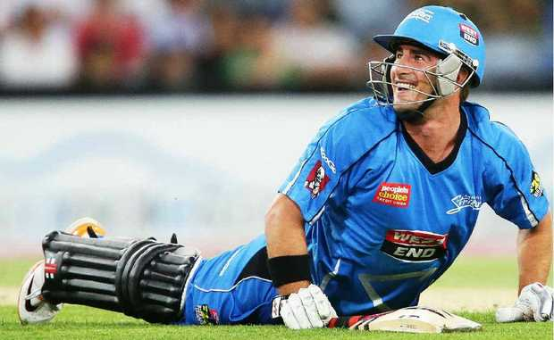 STRIKING SWITCH: Nathan Reardon is enjoying himself with the Adelaide Strikers this summer.