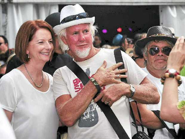 Julia Gillard meets the public.