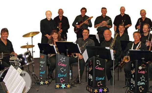 The Gold Coast City Big Band. Photo: Contributed