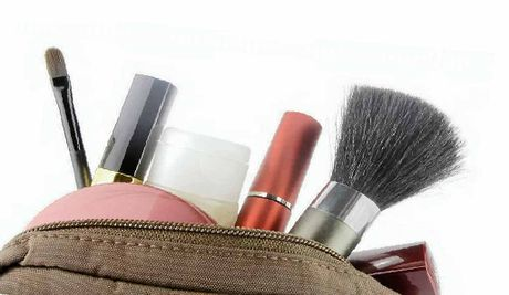 Makeup should always be stored in a cool, dark place, not left in the car or on a windowsill.