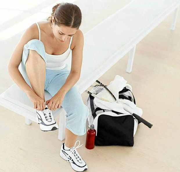 Lay out your gym clothes the night before to make it easier in the morning.