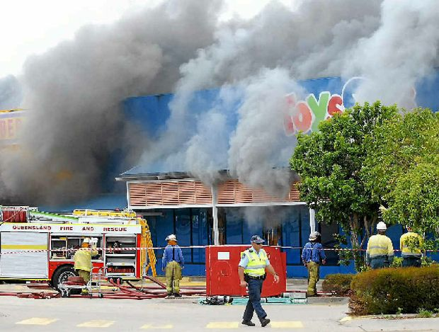 Despite billowing smoke, no calls were made to 000 regarding the Greenfields fire.