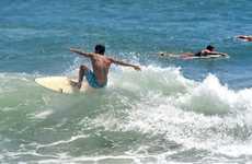 Wave of the day at Alexandra Headland. Photo:Warren Lynam / Sunshine Coast Daily