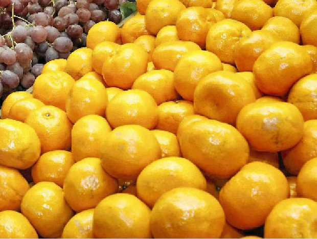 DAMAGE: When mandarins hit the stores this year, prices will be higher after trees in citrus growing areas were damaged by hail storms.