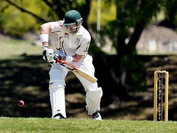POISED TO POUNCE: Ipswich and Central Districts captain Ben O'Connell is leading the Queensland Country team.